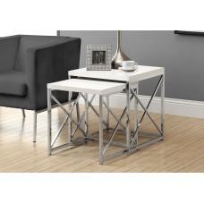 I 3025 ( 2 PCS. SET) NESTING TABLE
