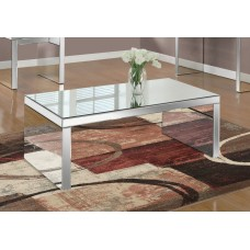 "I 3715 COFFEE TABLE - 48""X 24"" / MIRROR"
