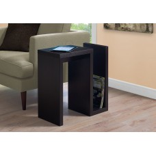 "I 2089 ACCENT TABLE - 24""H / CAPPUCCINO"