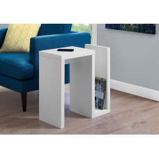 "I 2091 ACCENT TABLE - 24""H / WHITE"