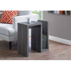"I 2092 ACCENT TABLE - 24""H / GREY"