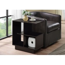 "I 2094 ACCENT TABLE - 24""H / CAPPUCCINO"