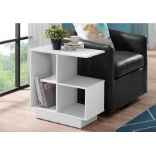 "I 2096 ACCENT TABLE - 24""H / WHITE"