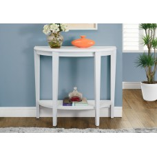 """I 2451 ACCENT TABLE - 36""""L / WHITE HALL CONSOLE"""