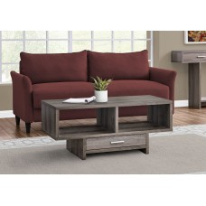 I 2808 COFFEE TABLE - DARK TAUPE WITH STORAGE