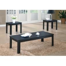 I 7840 P TABLE SET - 3PCS SET / BLACK