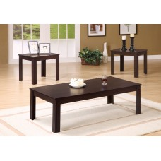 I 7842 P TABLE SET - 3PCS SET / CAPPUCCINO