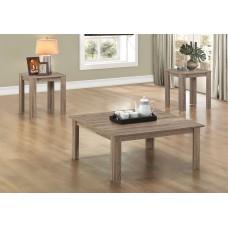 I 7913 P TABLE SET - 3PCS SET / DARK TAUPE