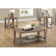 I 7914 P TABLE SET - 3PCS SET / DARK TAUPE