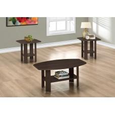 I 7924 P TABLE SET - 3PCS SET / CAPPUCCINO