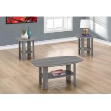 I 7925 P TABLE SET - 3PCS SET / GREY