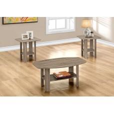 I 7927 P TABLE SET - 3PCS SET / DARK TAUPE