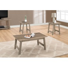 I 7931 P TABLE SET - 3PCS SET / DARK TAUPE