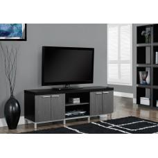 "I 2590 TV STAND - 60""L / BLACK / GREY"