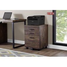 I 7400 FILING CABINET BROWN WOOD GRAIN