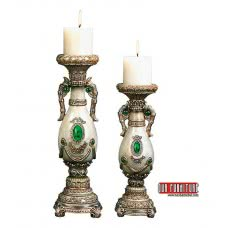 EMERALD COLLECTION OK-4188C CANDLE SET