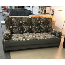 CANADIAN MADE SPACE SAVER ARMS SOFA BED