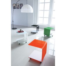 CORAL  ACCENT TROLLEY TABLE (CRE)