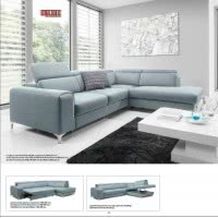 GENOVA 2 (ST) SECTIONAL SOFA-BED.