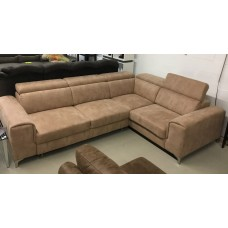 GENOVA 1  WITH ARMS (ST) SECTIONAL SOFA-BED.